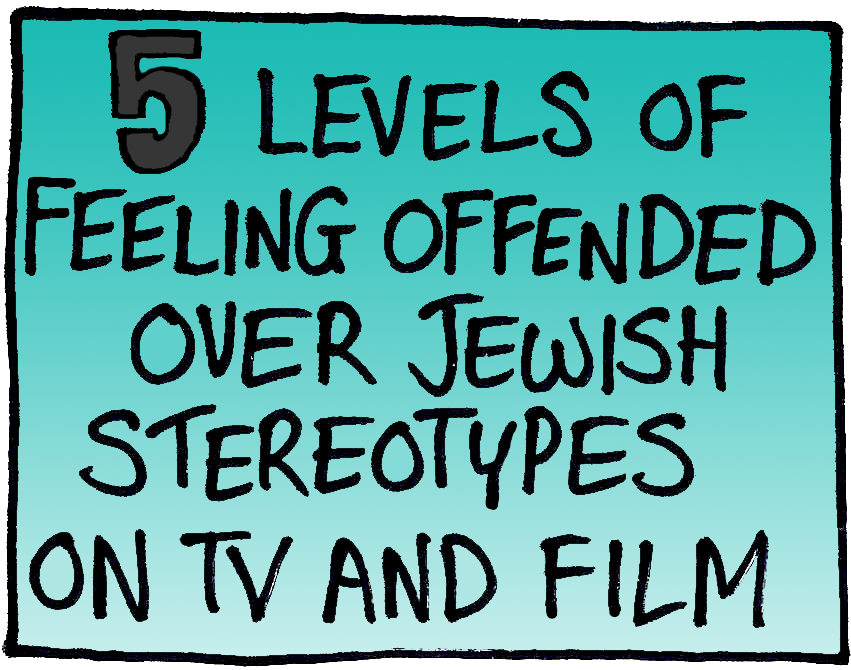 jewish stereotypes It seems like you can't turn on the television today without encountering some form of ethnic or class stereotype--from cartoons to sitcoms, stereotypes.